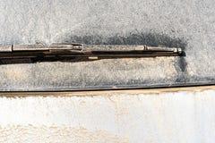 Tergicristallo sporco di Dusty Car Rear Window Washer fotografia stock libera da diritti