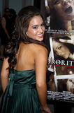 Teri Andrez. At the Los Angeles Premiere of Sorority Row held at the ArcLight Cinemas in Hollywood, California, United States on September 3, 2009 royalty free stock photo