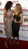 Teri Hatcher e Eva Longoria fotografia stock