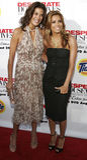 Teri Hatcher e Eva Longoria immagini stock libere da diritti