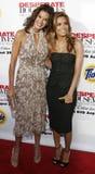 Teri Hatcher and Eva Longoria Stock Image