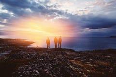 Teriberka Kola Peninsula, Ryssland arkivfoto