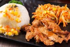 teriyaki цыпленка стоковое изображение rf