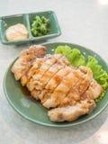 鸡teriyaki 免版税库存图片