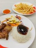 Teriyaki chicken Stock Photography
