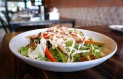 Teriyaki chicken salad Stock Images