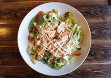 Teriyaki chicken salad Royalty Free Stock Photos