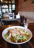 Teriyaki chicken salad Royalty Free Stock Photography
