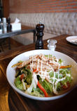 Teriyaki chicken salad Royalty Free Stock Image