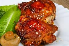 Teriyaki chicken Stock Images
