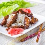 Teriyaki chicken Royalty Free Stock Image