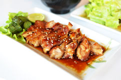 Teriyaki Grilled Chicken Royalty Free Stock Photography