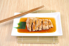 Teriyaki Grilled Chicken Stock Photography