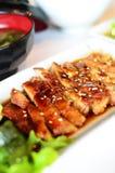 Teriyaki grillte Huhn Stockfoto