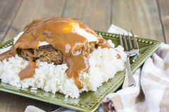 Teriyaki Loco Moco Stock Photos