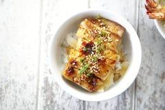 Teriyaki rice Stock Images