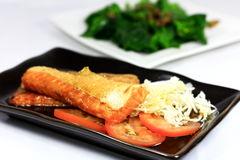 Teriyaki Salmon royalty free stock images