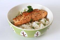 Teriyaki saumoné Photos libres de droits