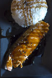 Teriyaki saumoné Photo stock