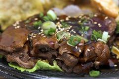 teriyaki wołowiny Obrazy Stock