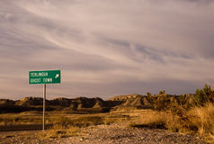 Terlingua Ghost Town Royalty Free Stock Photo