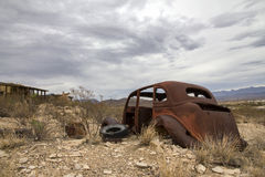 Terlingua Ghost Town - Texas royalty free stock images