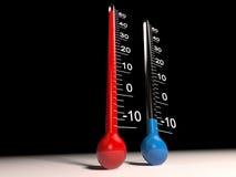termómetro Fotografía de archivo libre de regalías