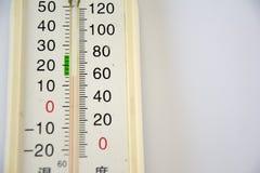 termómetro Imagenes de archivo