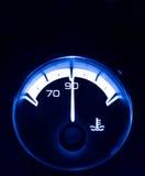 Termómetro auto del agua Fotos de archivo