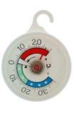 Termómetro circular del refrigerador Fotos de archivo