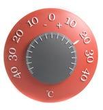 Termómetro del diseño Imágenes de archivo libres de regalías