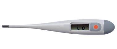 Termómetro electrónico médico imágenes de archivo libres de regalías
