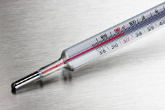 Termómetro médico del hogar Fotografía de archivo libre de regalías
