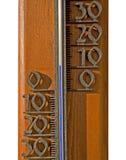 Termómetro, termometer Foto de archivo libre de regalías