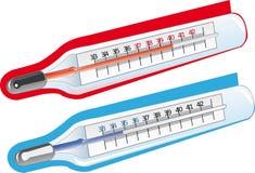 Termómetros Ilustración del Vector