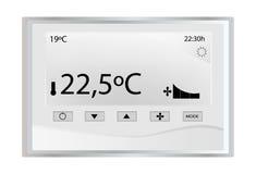 Termóstato de la temperatura Fotos de archivo libres de regalías