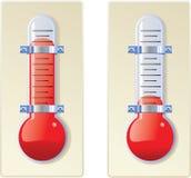 Termômetro Ilustração do Vetor