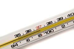 Termômetro do fundo. Imagem de Stock Royalty Free