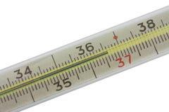 Termômetro mercurial Foto de Stock Royalty Free