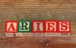 The term Aries Stock Photo