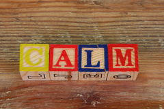 The term calm Stock Photography