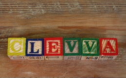 The term clevva Stock Image