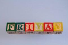 The term Friyay Royalty Free Stock Photography