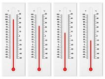 Termômetro Imagens de Stock Royalty Free
