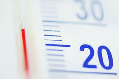 Termômetro Imagem de Stock