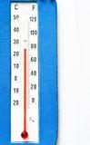 Termômetro Fotografia de Stock Royalty Free