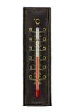 Termômetro de Brown isolado Fotos de Stock