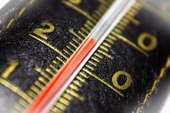 Termômetro de couro Fotos de Stock