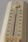 Termômetro interno Fotografia de Stock Royalty Free