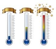 termômetros Imagem de Stock Royalty Free